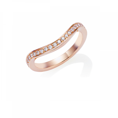 Diamond Keeper Eternity Ring, 18ct Rose Gold