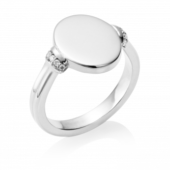 Diamond Era Ring 9ct White Gold
