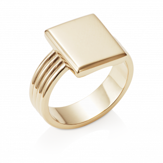 Era Signet Ring 9ct Yellow Gold
