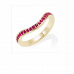 Ruby Keeper Eternity Ring, 18ct Yellow Gold