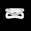 Diamond Keeper Eternity Ring, 18ct White Gold