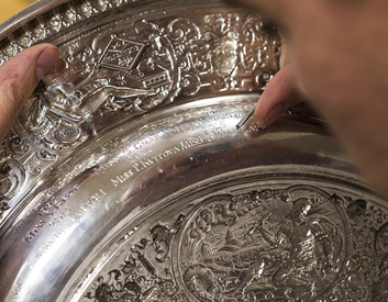 Roman Zoltowski: 35 years of engraving Wimbledon
