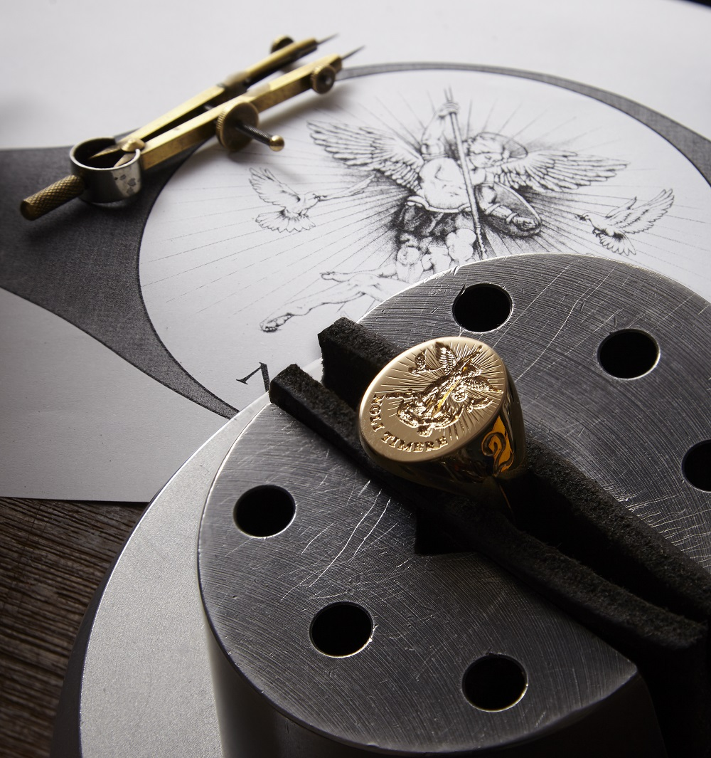 Angel Signet designed and Seal