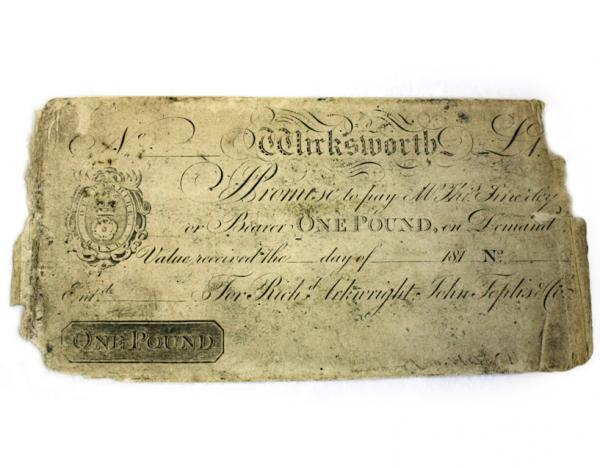 The Secret Art of Engraving: British Banknote